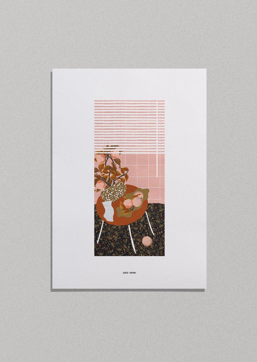 Image of Affiche -  Chez Henri 𝗣𝗥𝗢𝗠𝗢 ̶ ̶𝟮̶𝟬̶€̶