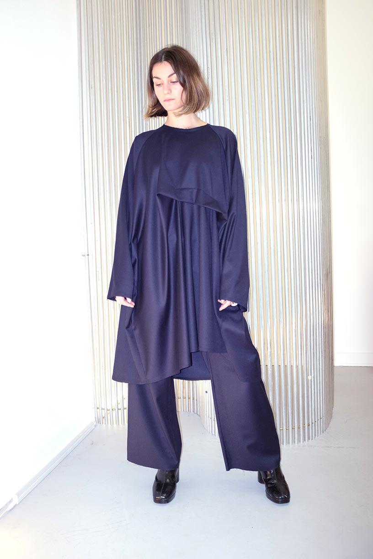 Image of Dress 1 - Wool - Navy