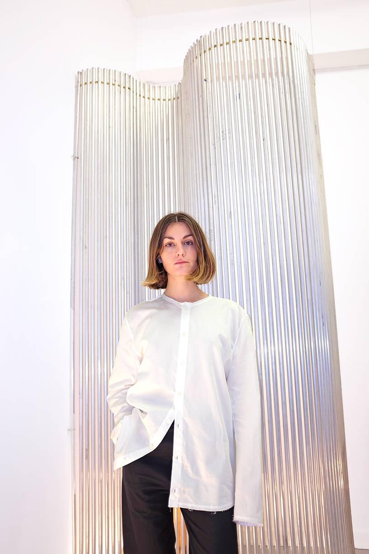 Image of Shirt 2 - Organic cotton poplin - White