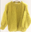 Yellow mohair pullover SALE
