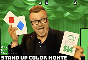 Image of Stand Up Color Monte