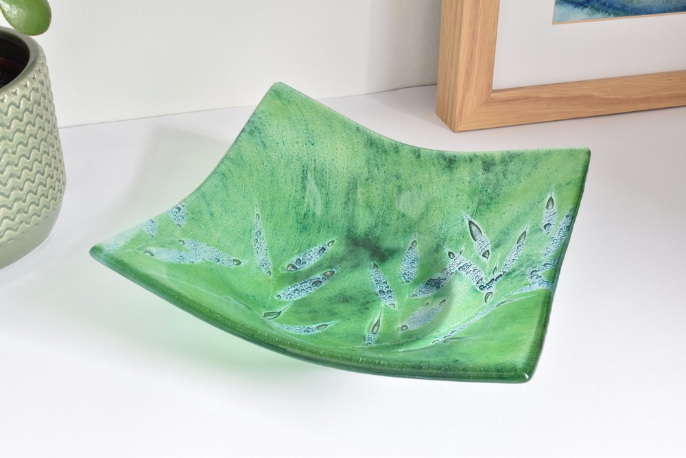 Image of Small Square Leaf Bowl