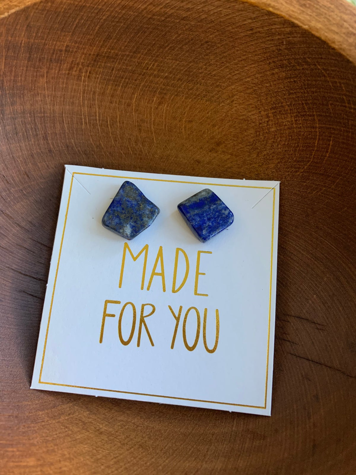 Image of Lapis Lazuli ELEMENTS EARRINGS