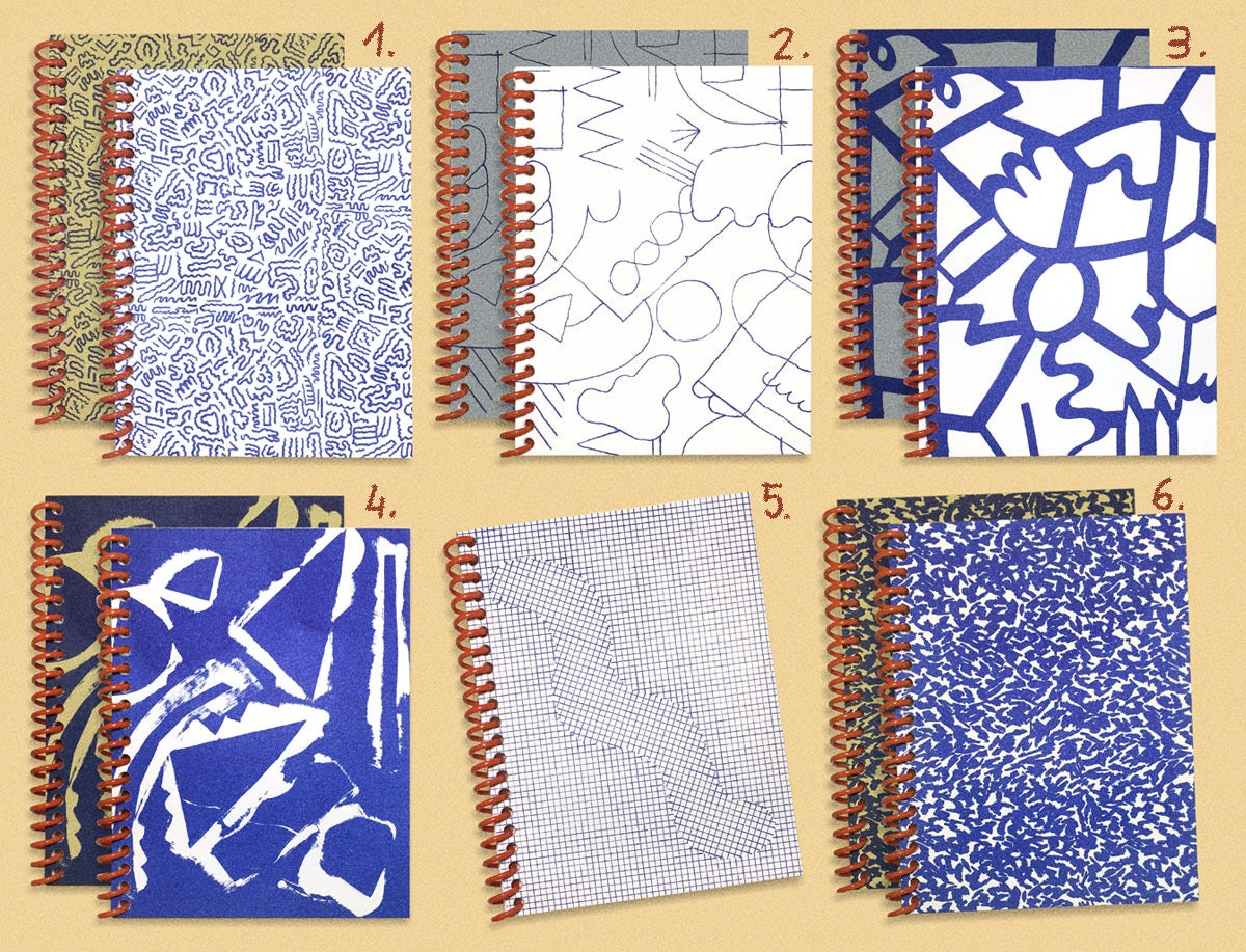 Image of SMALL SPIRAL NOTEBOOK - BLUE