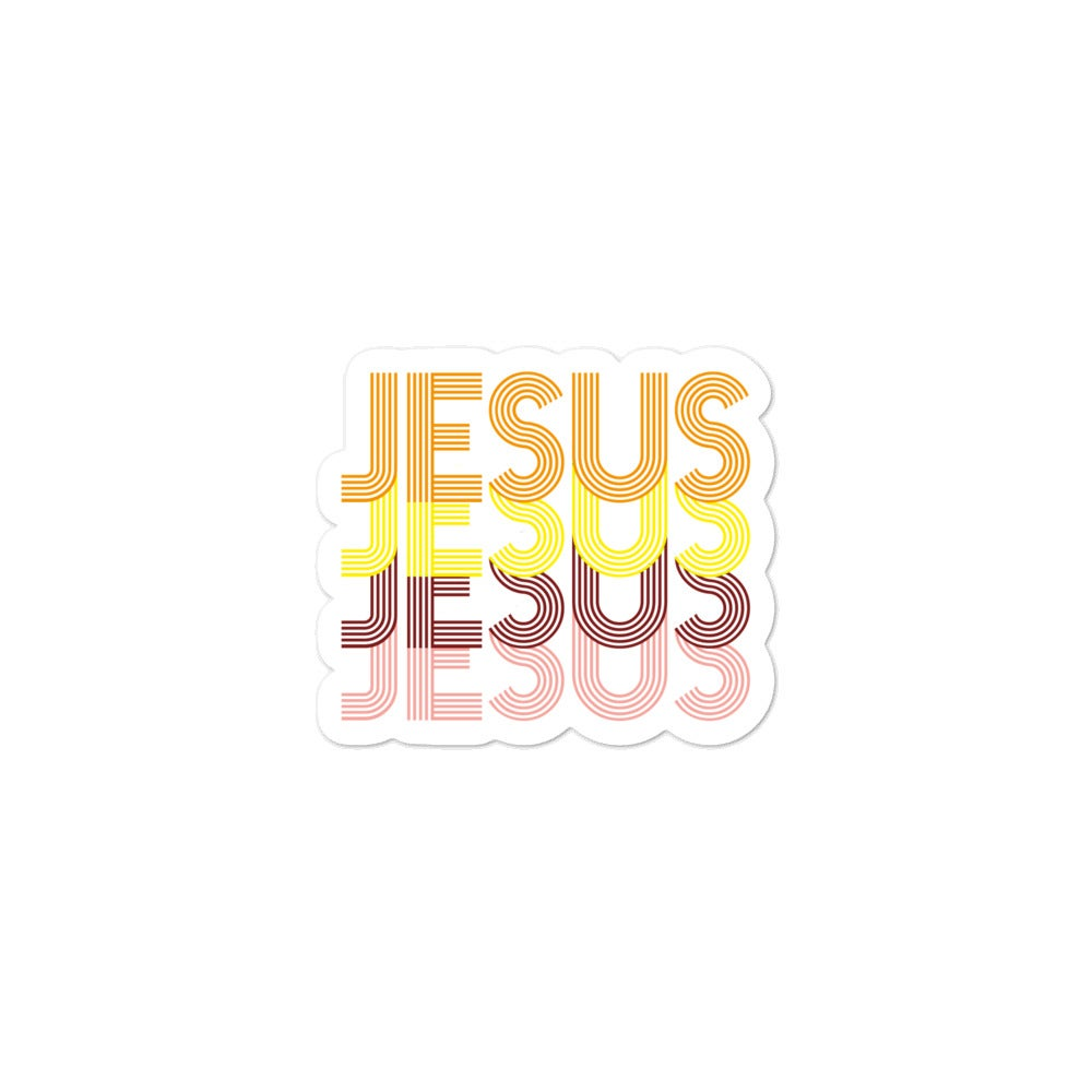 Image of Jesus Sticker