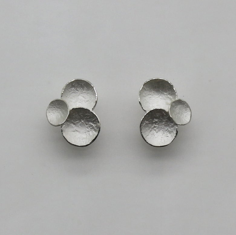 Image of fragment three elements earrings