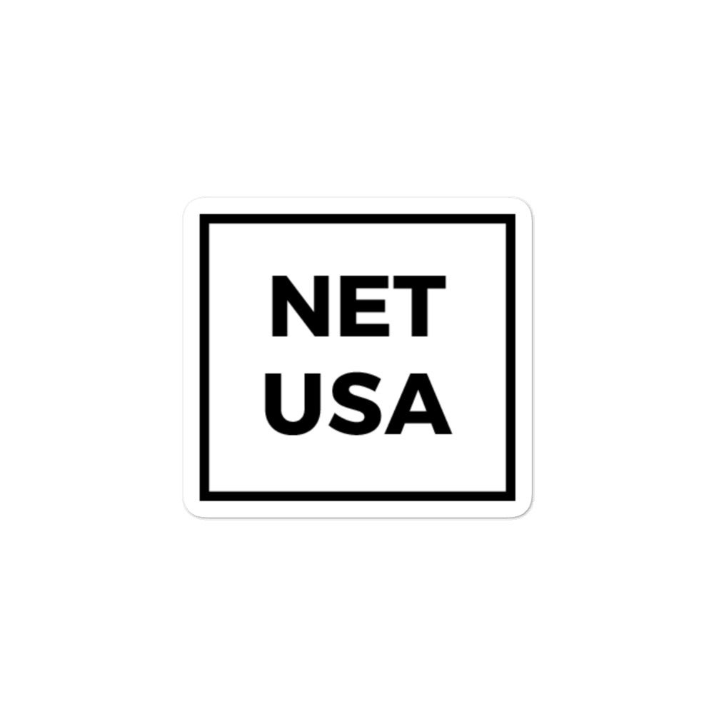 Image of NET USA Sticker