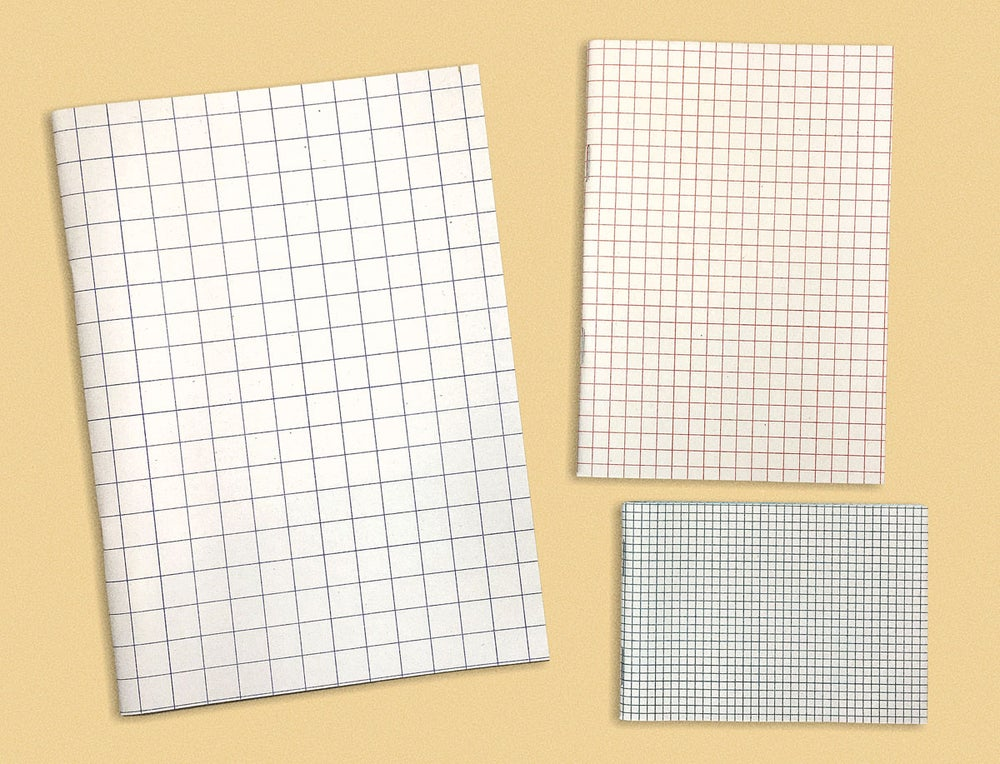 Image of GRID SET OF NOTEBOOKS