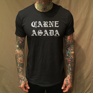 Image of CARNE ASADA BLACK TEE