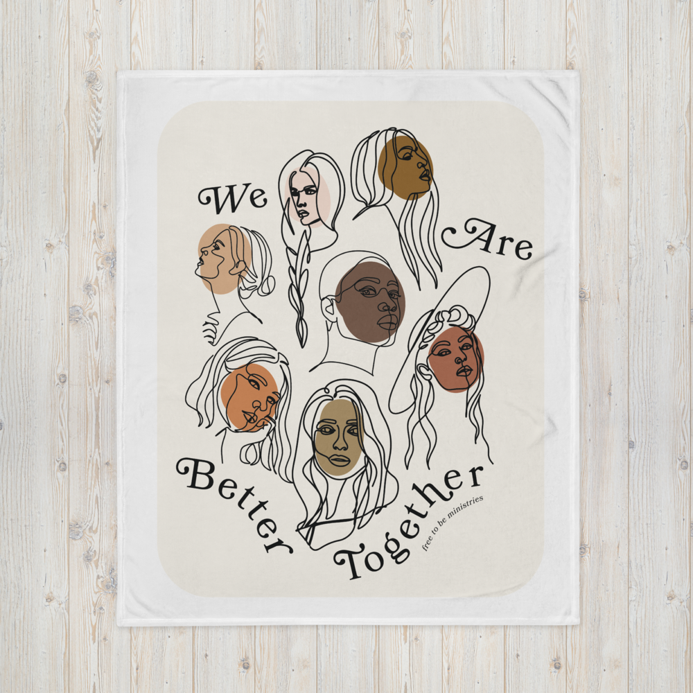 Image of Better Together - Throw Blanket