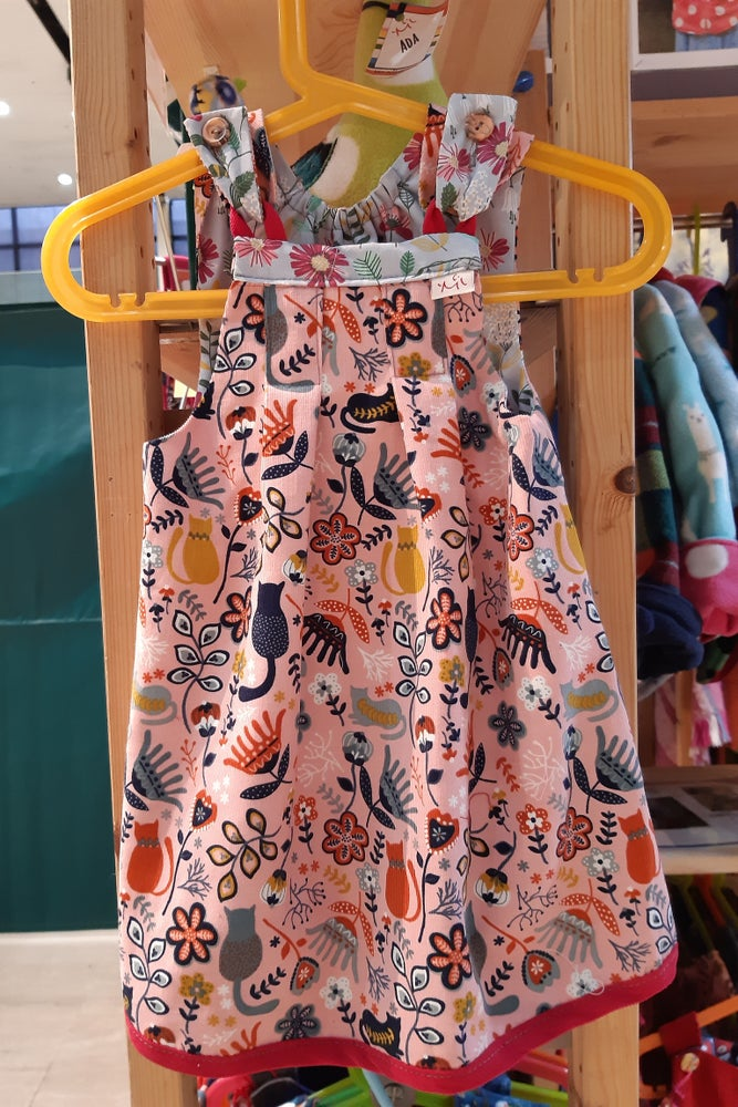 Image of Reversible Dress - Cats