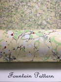 Marbled Paper Pearl White