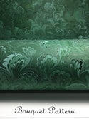 Marbled Paper Forest Green