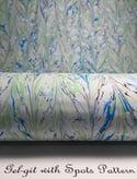 Marbled Paper Azure Blue
