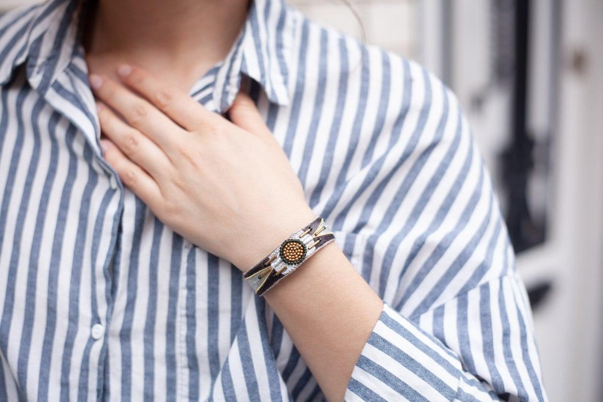bracelet Aprile (5 couleurs)