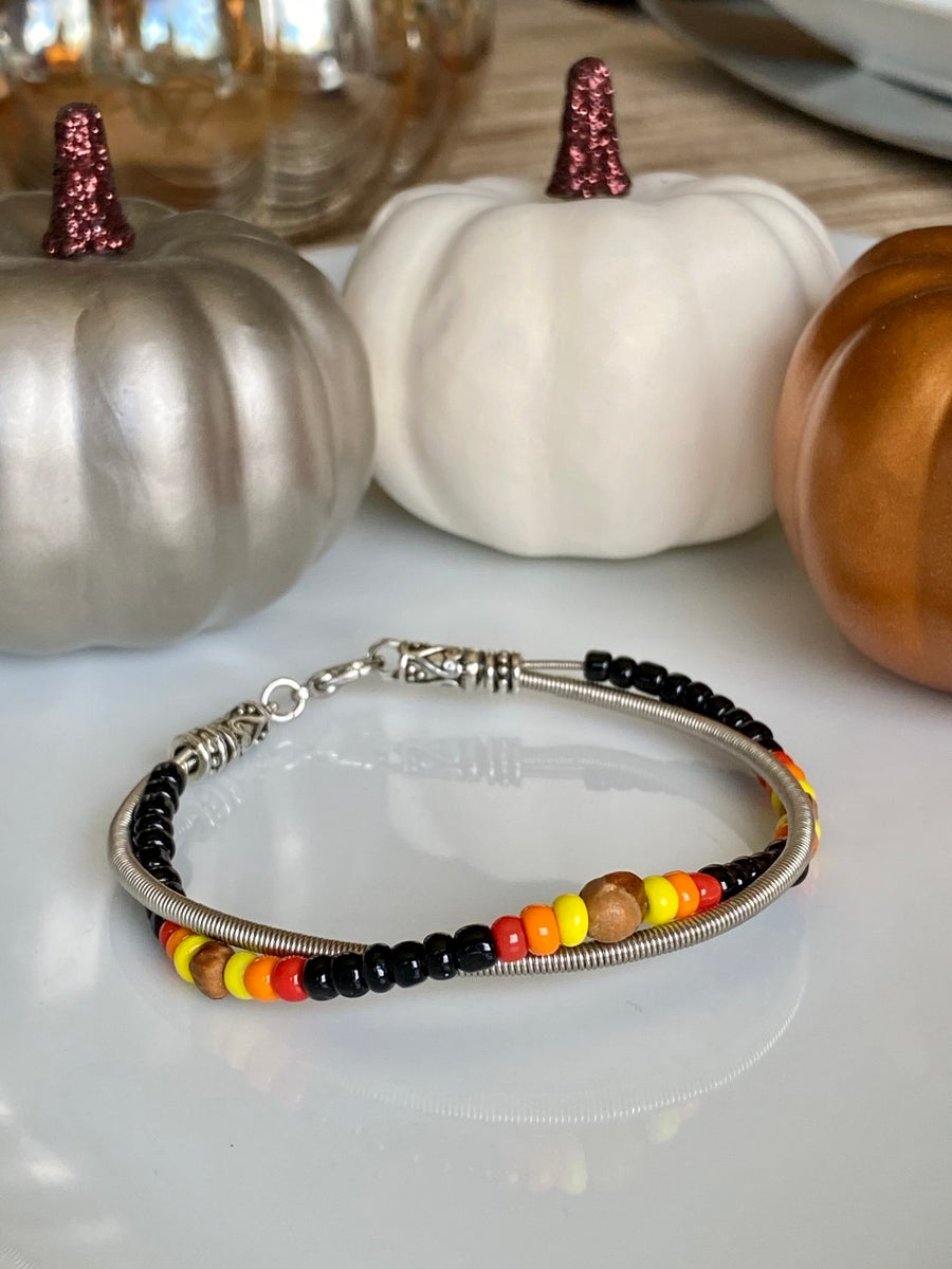 Image of Bracelet Made With Navajo Ghost Beads