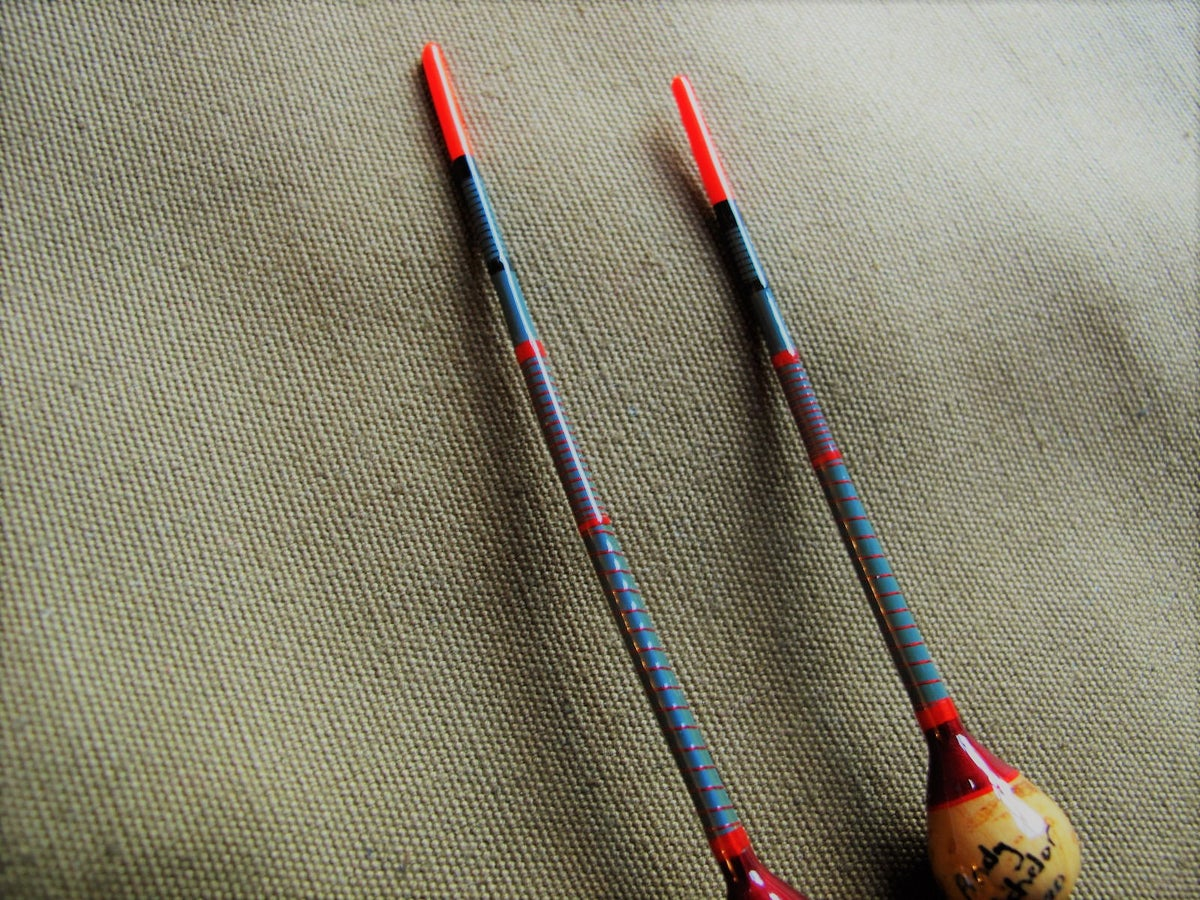 Image of 2 x Cork and crowquill floats