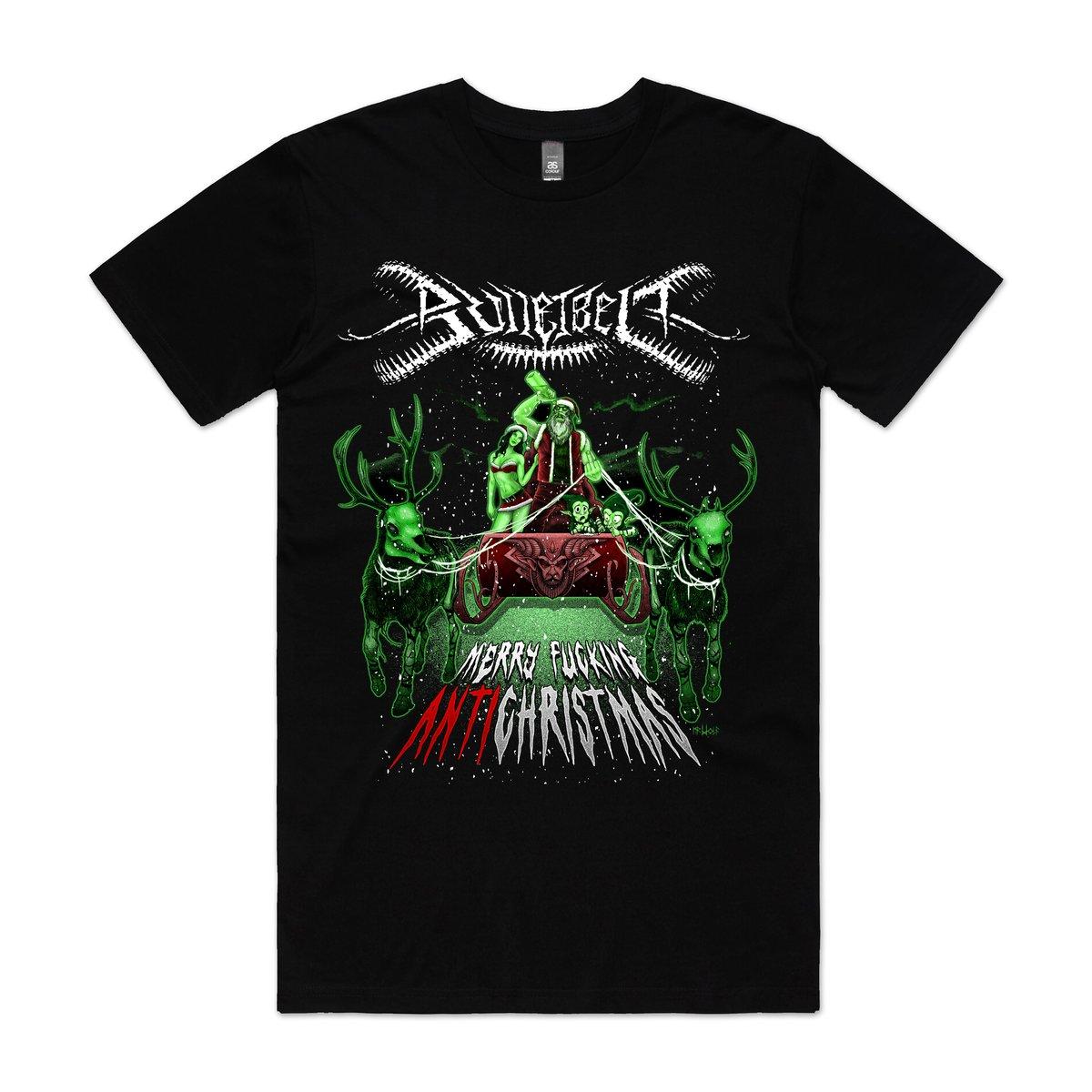 "Image of Bulletbelt ""Anti Christmas"" T-Shirt"