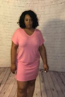 Image 1 of Hautie Short Pink Dress