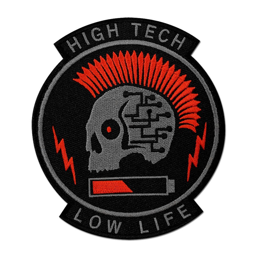 Image of High Tech Low Life Patch