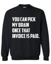 Invoice Sweatshirt