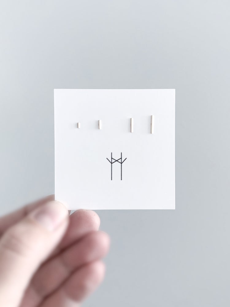 Image of Tiny T Posts in Four Sizes