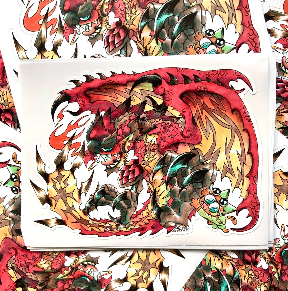 Image of Rathalos Sticker