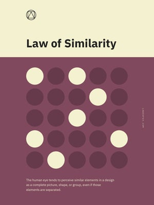 Law of Similarity Poster