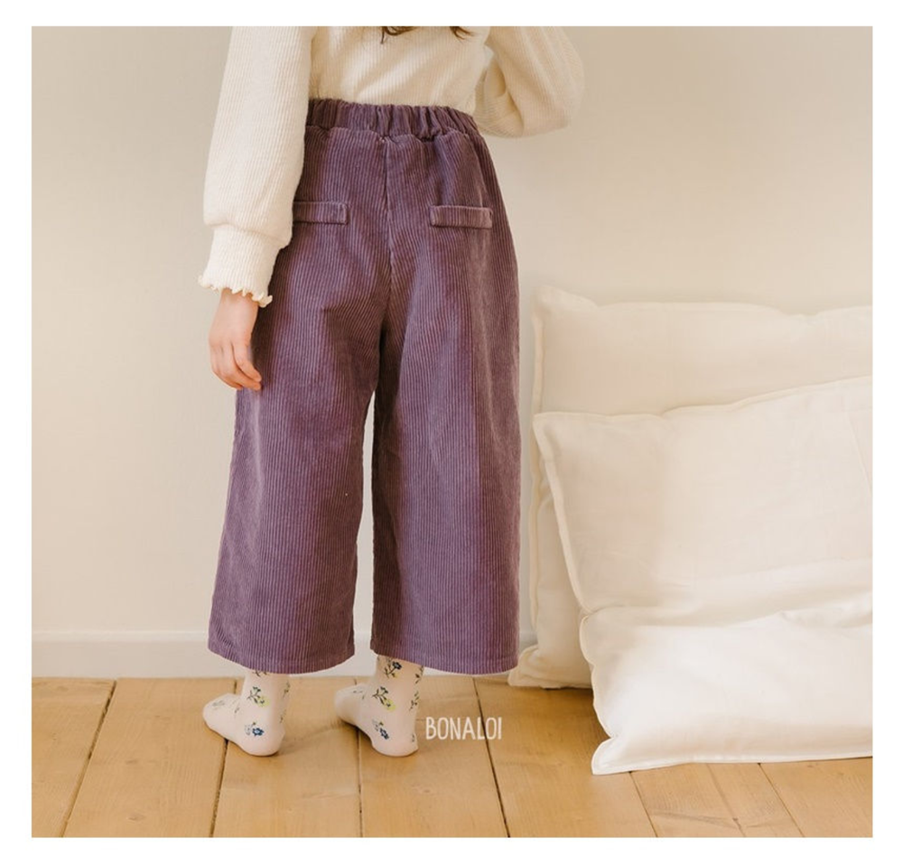 Image of Corduroy Straight Pants