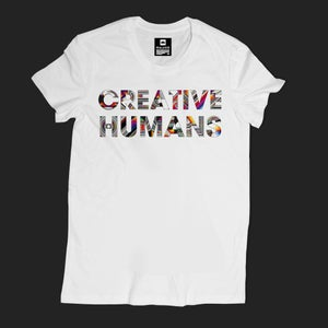 Image of CREATIVE HUMANS/Men's Heavyweight T-Shirt