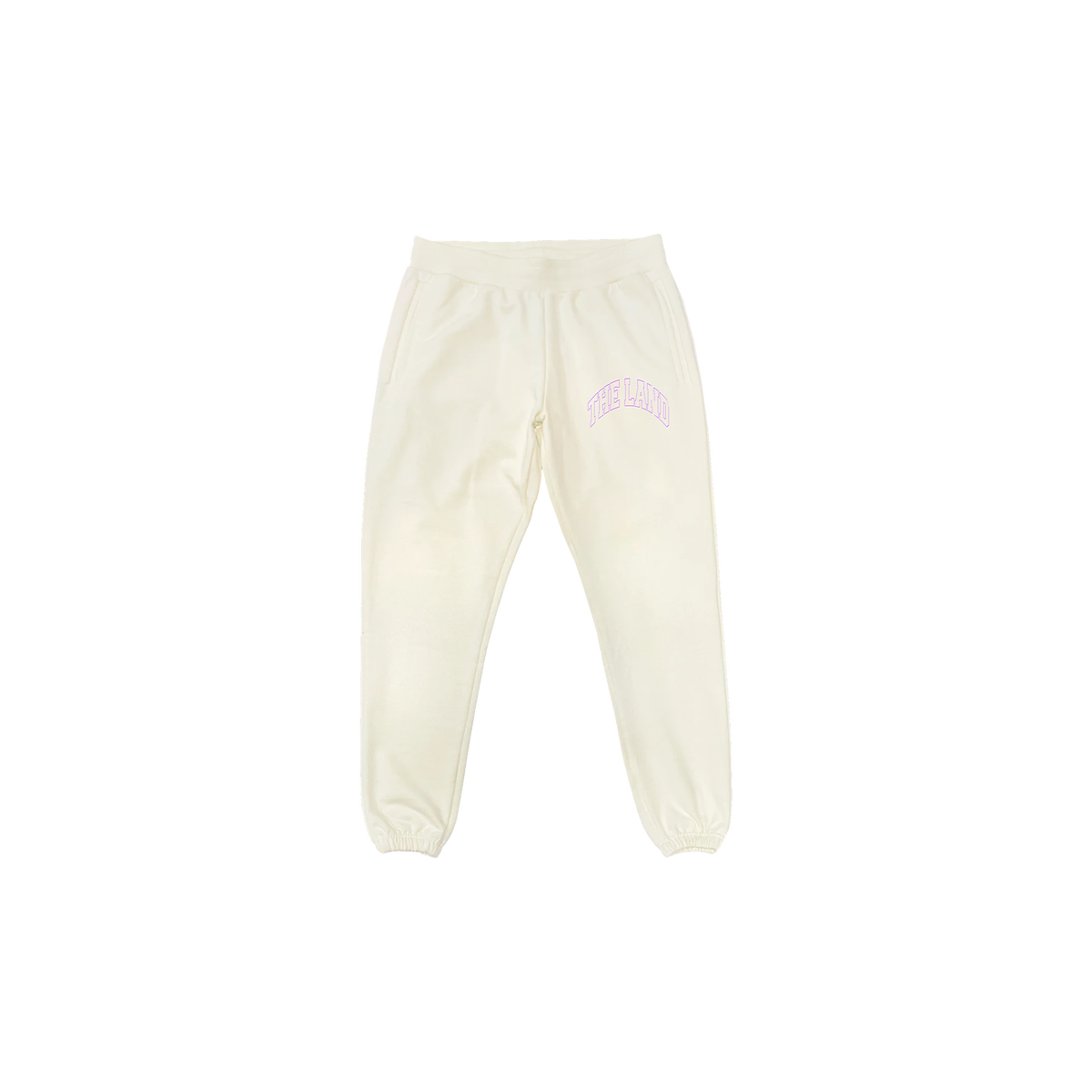 "Premium Collection ""The Land"" Cream Sweatpants"