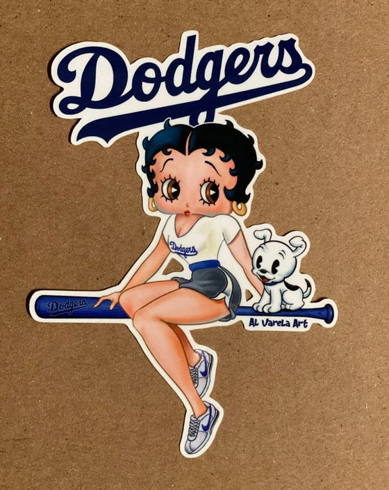 Image of Dodger Betty Boop