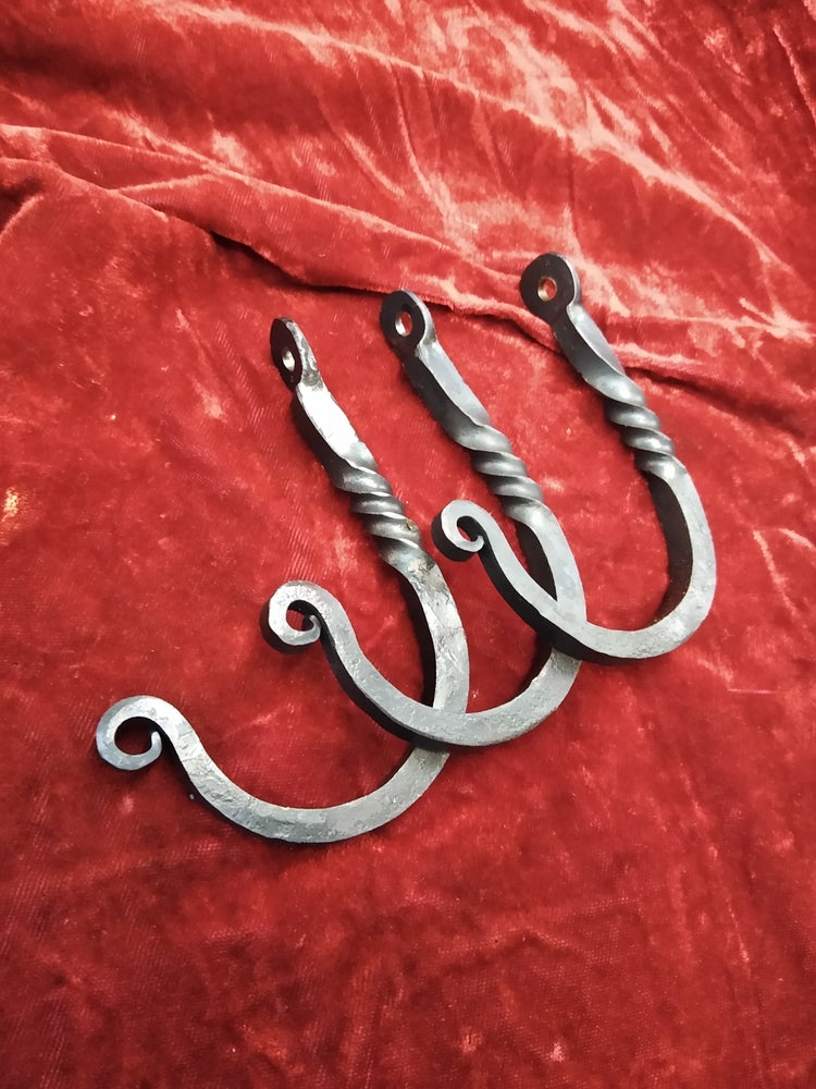 Image of Forged hooks