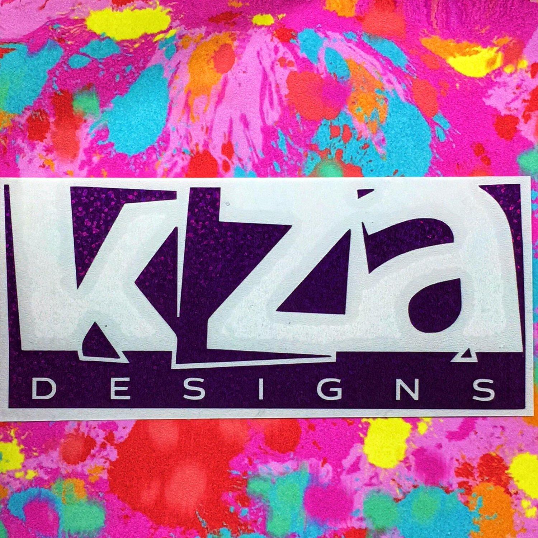 KZA Designs Logo Decal
