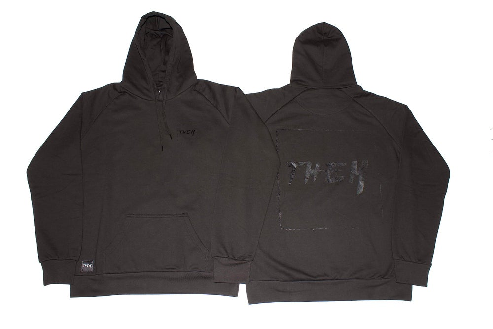 Image of Block Hoodie - Black/Clear