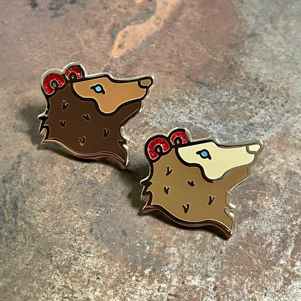 Bears Ears Pin - Light Brown