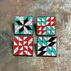 Quilt Block Pin - Card Sharp