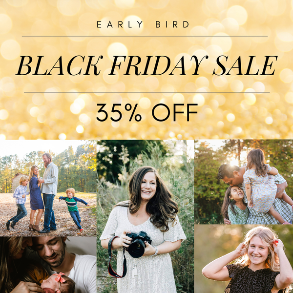 Image of BLACK FRIDAY - SALE 35% OFF (FIRST 5 FAMILIES TO BOOK)