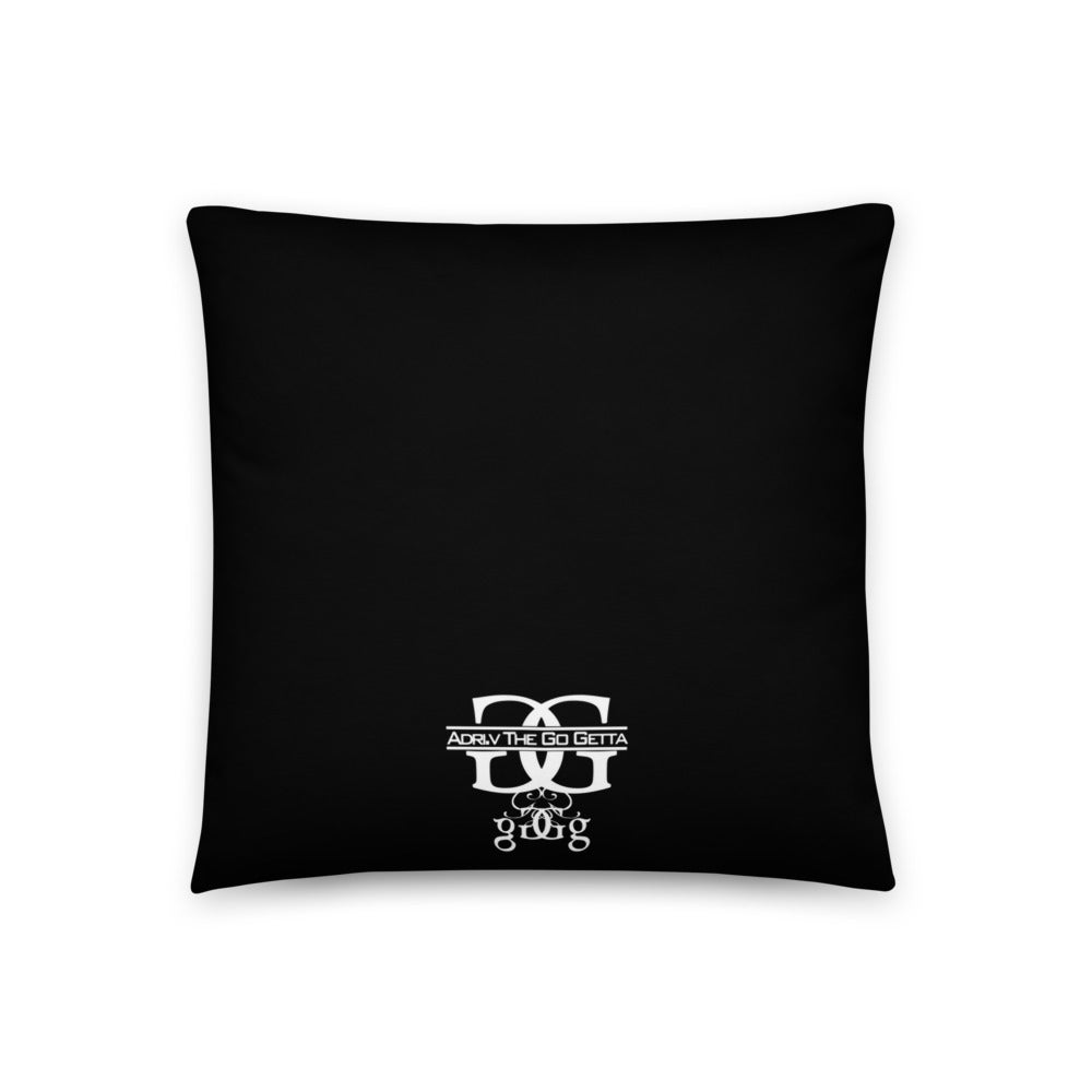 Image of The Definition Pillow (Black)