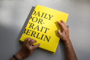 Image of daily portrait berlin book