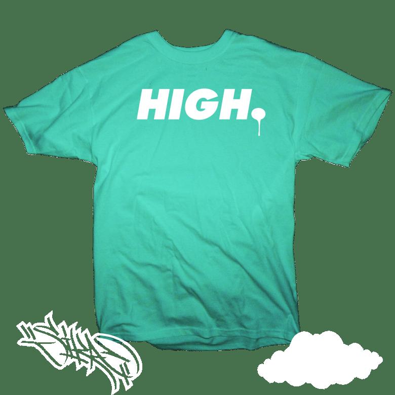 "Image of ""HIGH."" T-shirt"