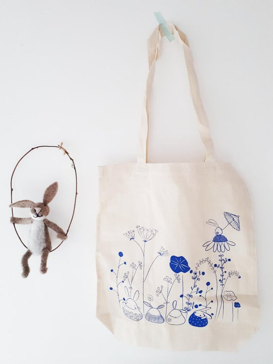Image of Organic bunny Tote