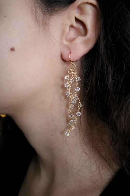 Image of WISTERIA Earrings - Frost
