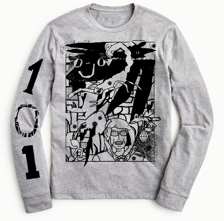 Image of Die Zauberflöte Long Sleeve T-shirt