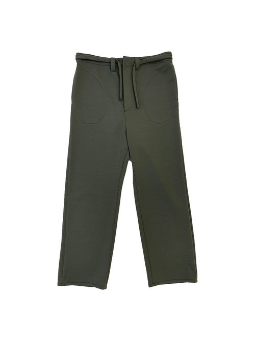 Image of FOS Trousers -Wool - Dark green