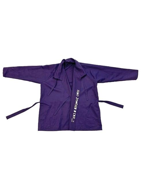 Image of FOS Robe - Viscose- Dark Purple