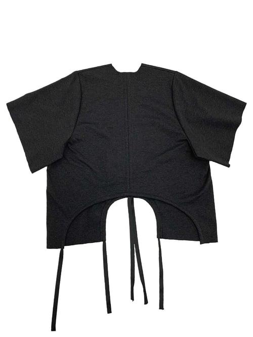 Image of Shift Blouse - Organic Cotton - Dark grey