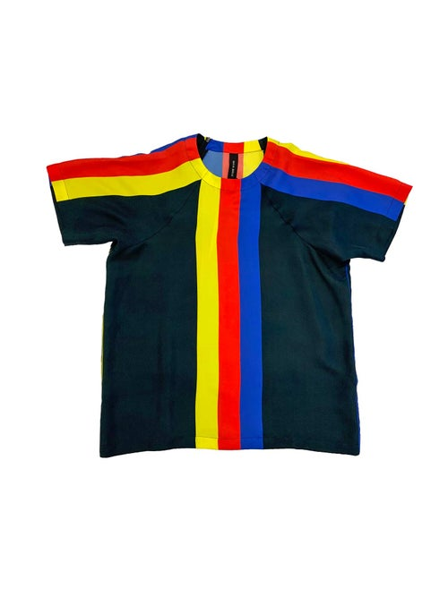 Image of T-Shirt 2 -Silk - Primary colors