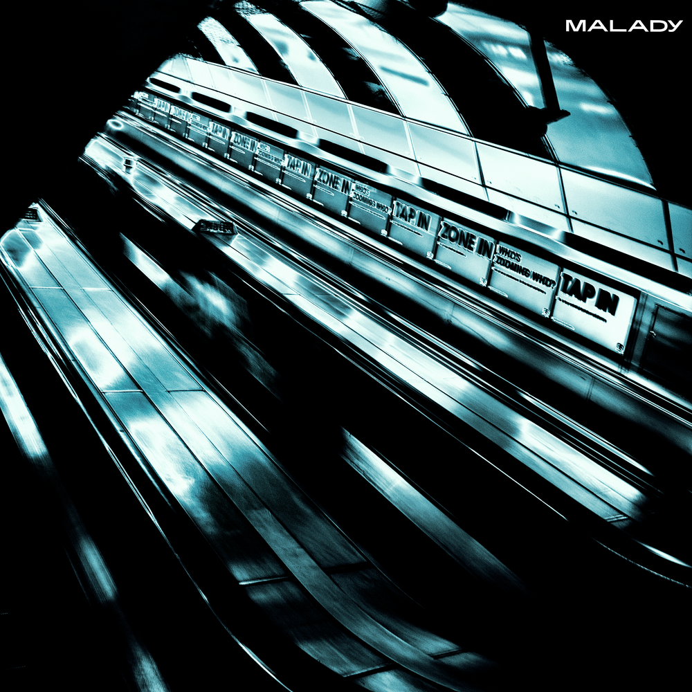 """Image of Malady - London, I Love You But You're Bringing Me Down 7"""" - Pre-Order"""
