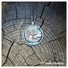Collier Labradorite arbre et aile